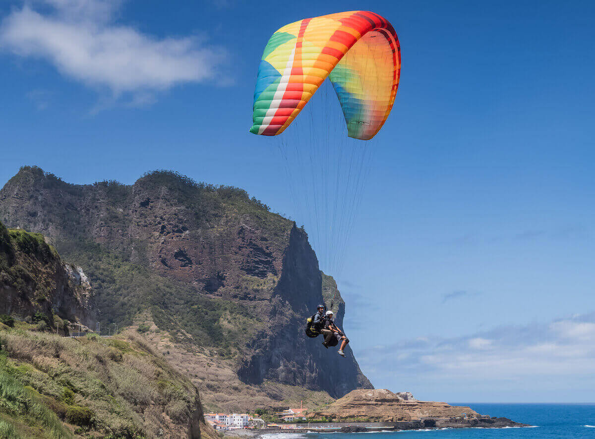 Paragliding - 3 crazy things to do in Madeira Island